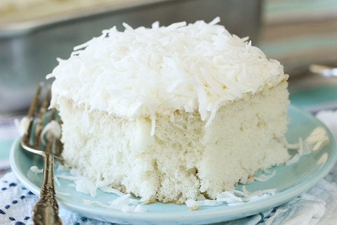 Easy Coconut Sheet Cake Southern Bite
