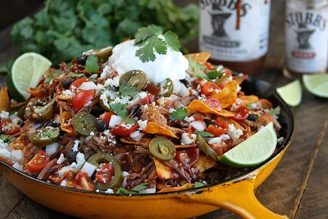 Loaded Brisket Nachos