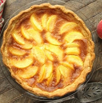 Peach Chess Pie