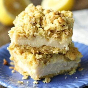 Lemon Crumble Bars and Being Bored
