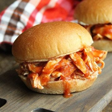 Slow Cooker Sloppy Joe Chicken