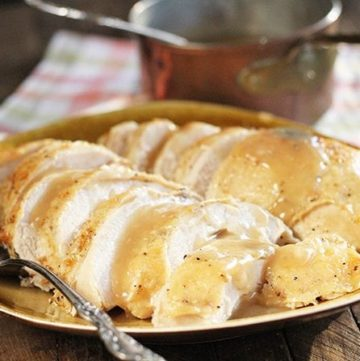 Butter-Basted Slow Cooker Turkey Breast