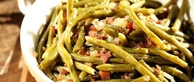 Southern Slow Cooker Green Beans