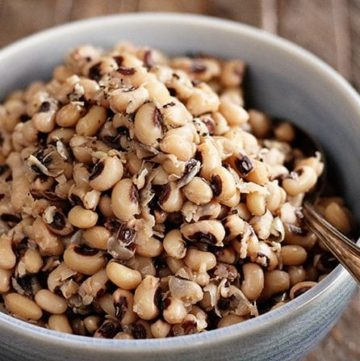 Southern Slow Cooker Black-Eyed Peas