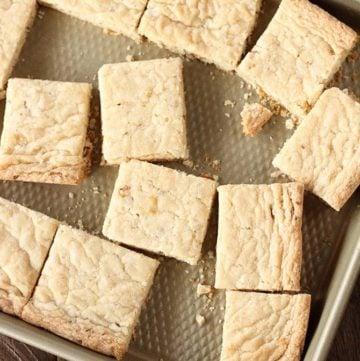 Easy Pecan Shortbread