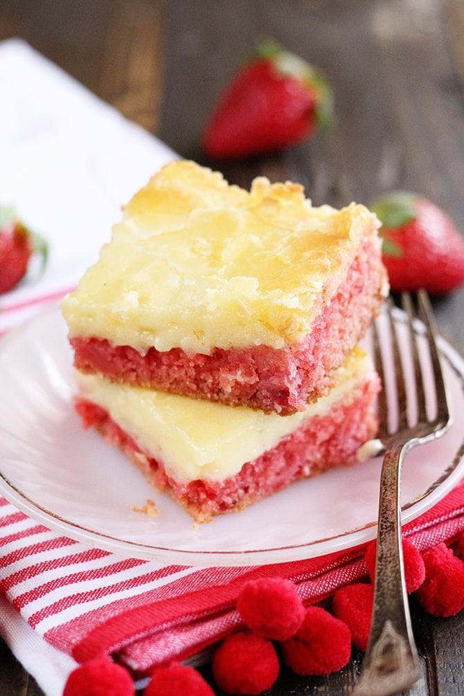 How To Make Strawberry Cake Mix