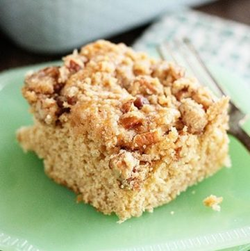 Buttermilk Pecan Coffee Cake