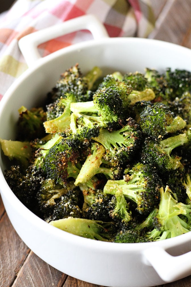 You haven't tried broccoli until you've tried this Roasted Broccoli recipe. Parmesan, lemon, and garlic combine to take it over the top.