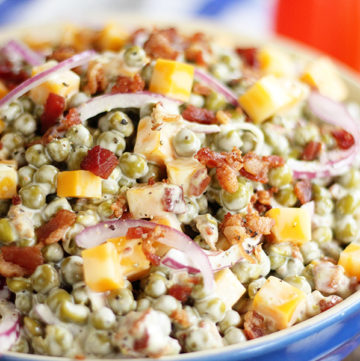 Bacon and Pea Summer Salad