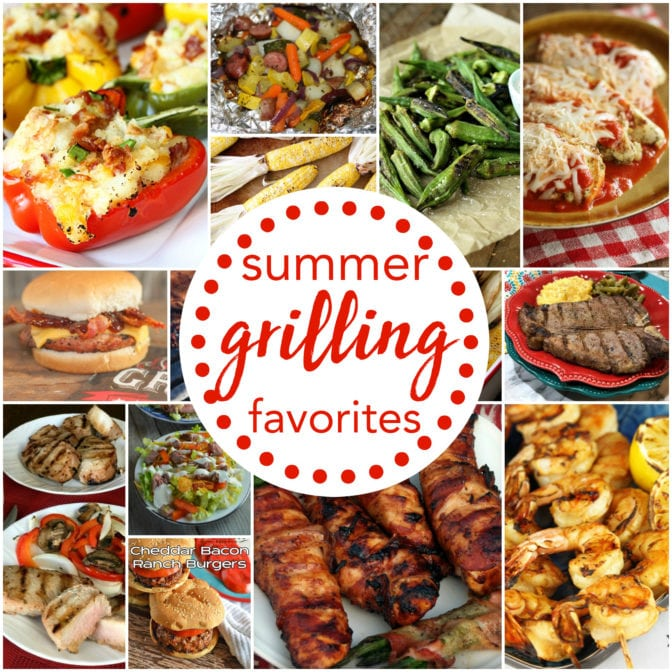 Check out some of my favorite grilling recipes!