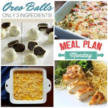 Meal Plan Monday #142