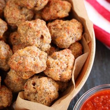 Pizza Sausage Balls
