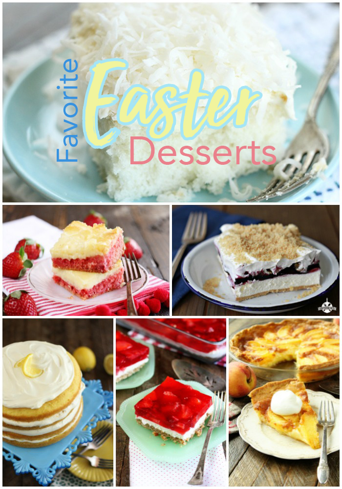 Favorite Easter Desserts