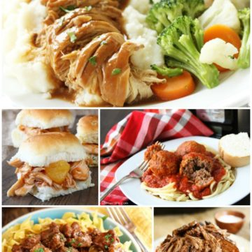 Weeknight Slow Cooker Favorites