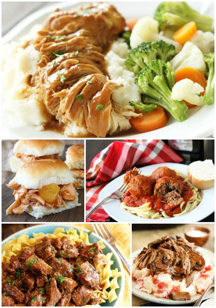 Slow Cooker recipes are perfect for busy weeknights! Here's a collection of some of the best from Southern Bite!