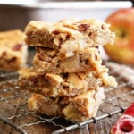 Apple Pecan Chewies stacked