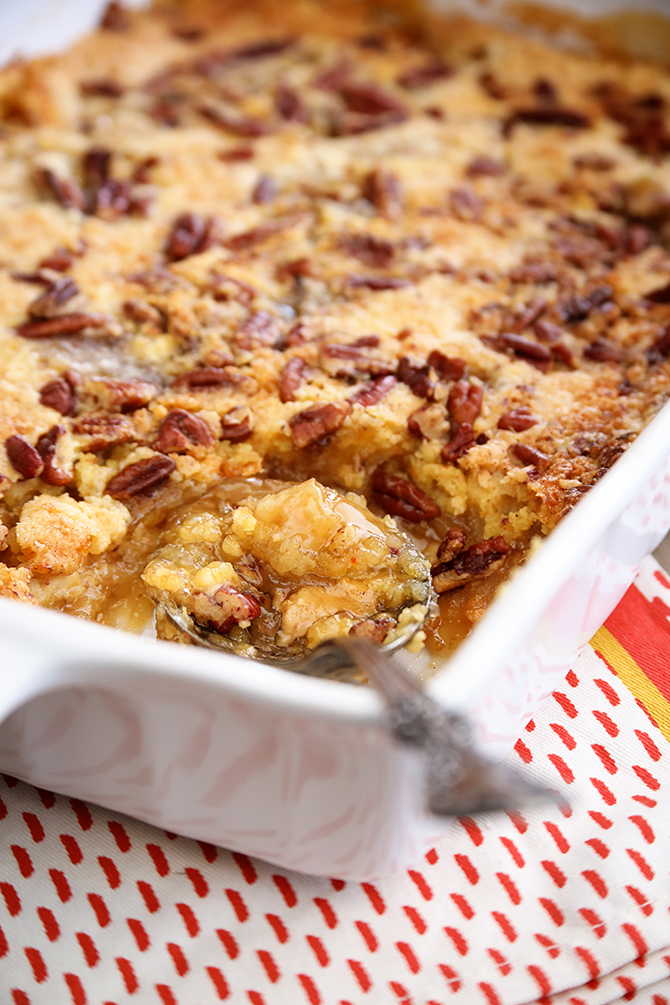 Apple Scrunch Apple Dump Cake Southern Bite