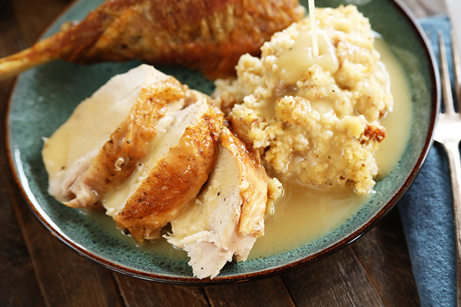 Quick and Easy Turkey Gravy