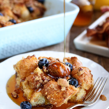 French Toast Sausage Bake