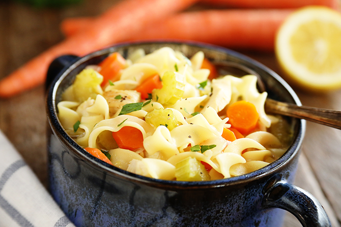 Quick and Flavorful Chicken Noodle Soup