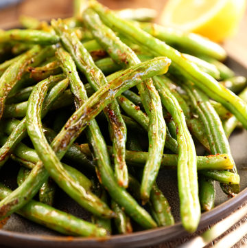 My Favorite Roasted Green Beans