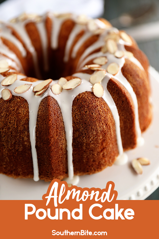 Almond Pound Cake for Pintreat
