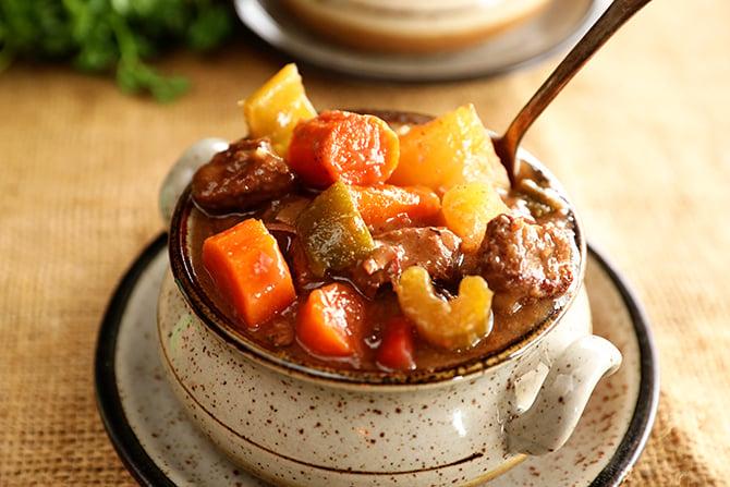 Slow Cooker Creole Beef Stew