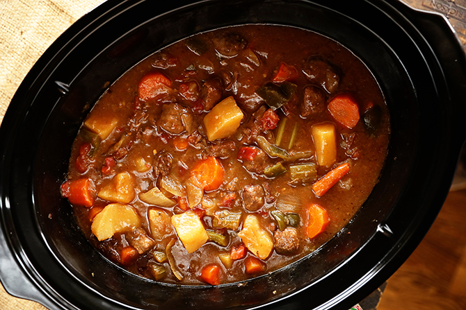 Slow Cooker Creole Beef Stew Southern Bite