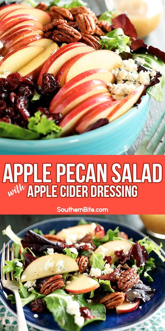 Apple Salad for Pinterest