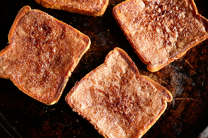 Cinnamon Toast on sheet pan