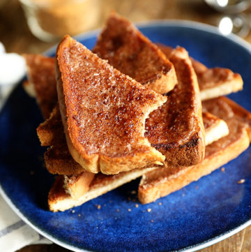 The Best Cinnamon Toast Ever!