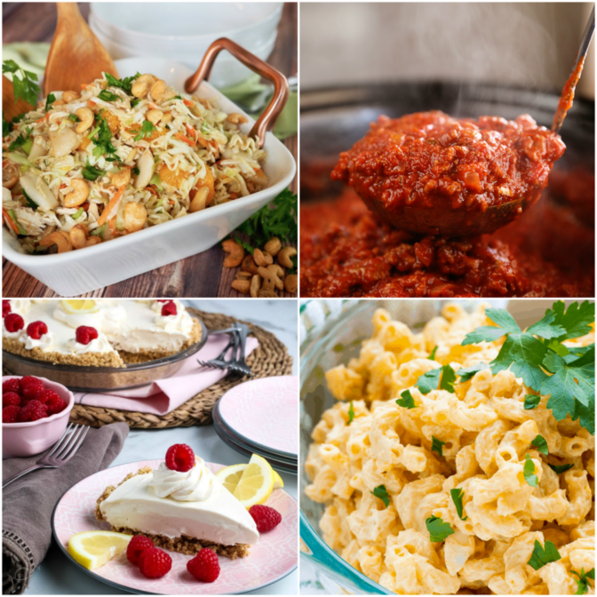 Meal Plan Monday Collage of Recipes