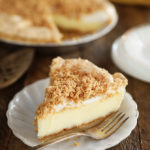 Slice of Peanut Butter Meringue Pie