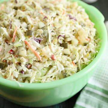 Dill Pickle Coleslaw