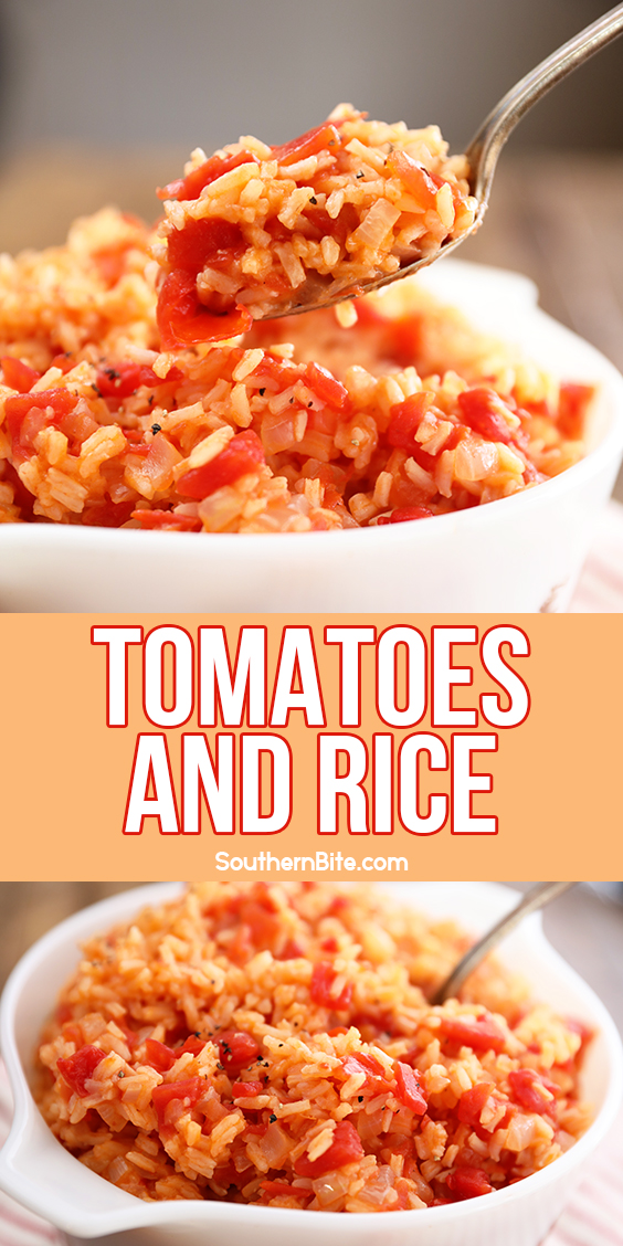 Tomatoes and Rice image for Pinterest