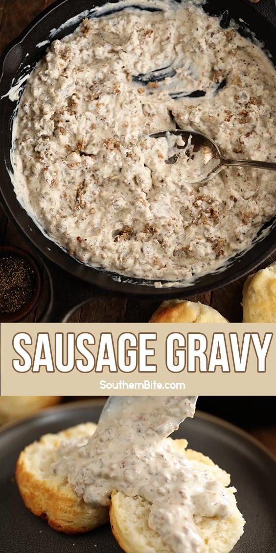 Sausage Gravy - image for Pinterest