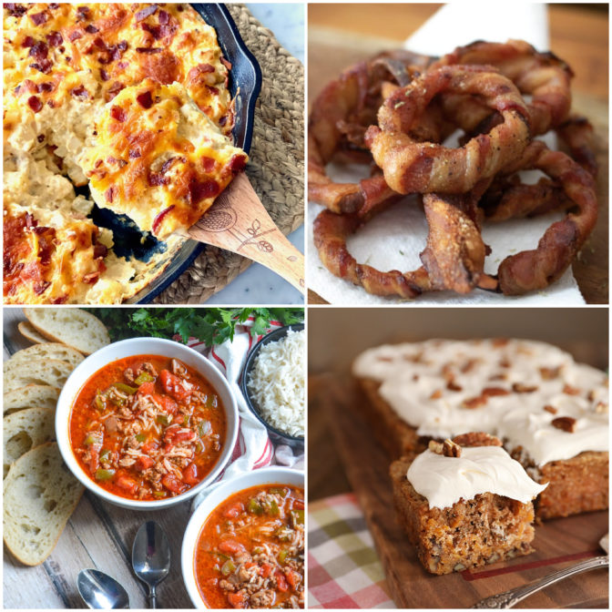 Collage of images for Meal Plan Monday #238