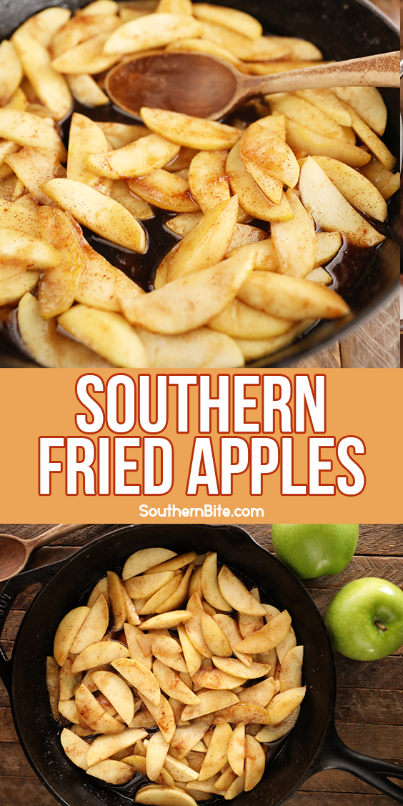 Southern Fried Apples - image for Pinterest