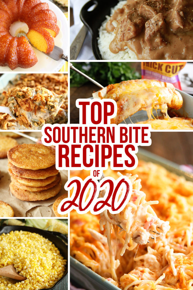 Collage of 2020 Top Recipes