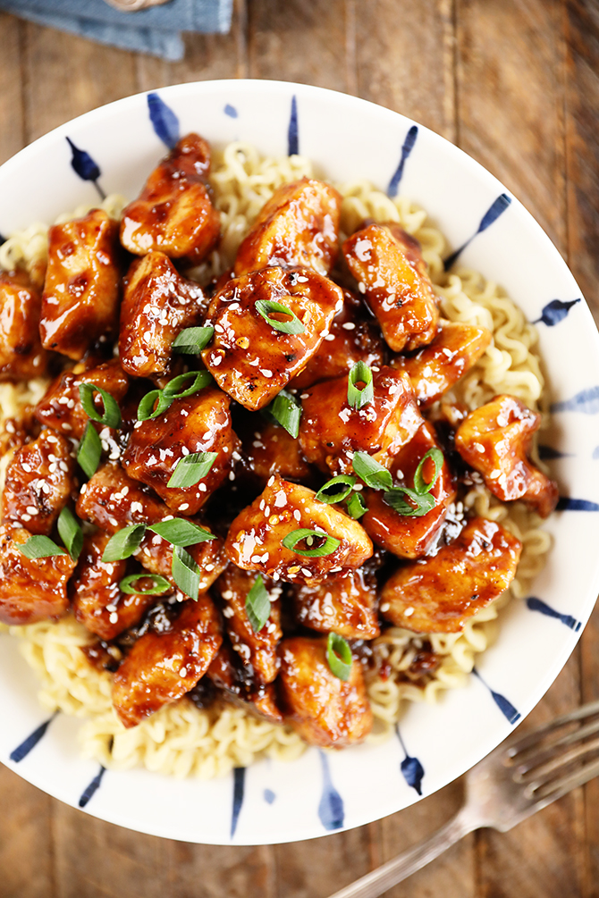 Easy General Tso S Chicken Southern Bite
