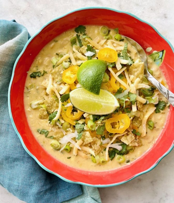 White Corn Chicken Chili