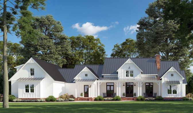 The Chinaberry House Plans