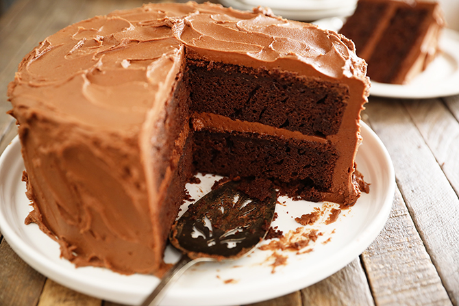 Best Chocolate Cake (and Cupcakes)