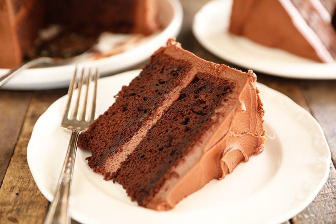 Slice of Best Chocolate Cake