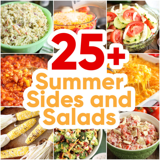 25+ Best Summer Sides and Salads