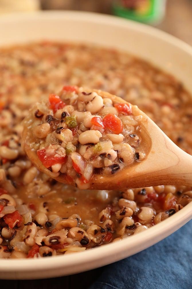 Spicy Creole Black-Eyed Peas