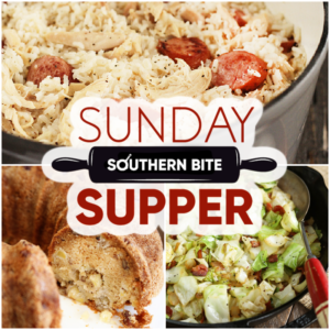 Sunday Supper Collage